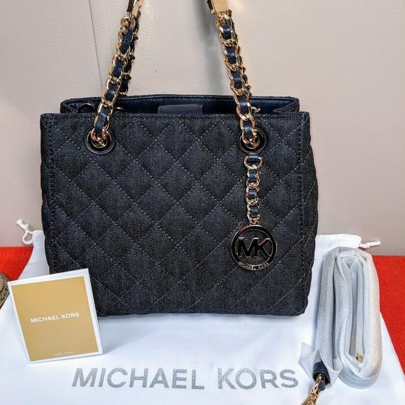 1577a292efab MICHAEL Michael Kors Bags | Michael Kors Northsouth Small Denim ...